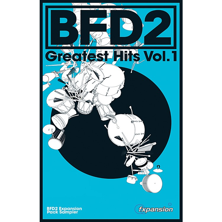 FxpansionBFD Greatest Hits Vol. 1 Expansion Pack