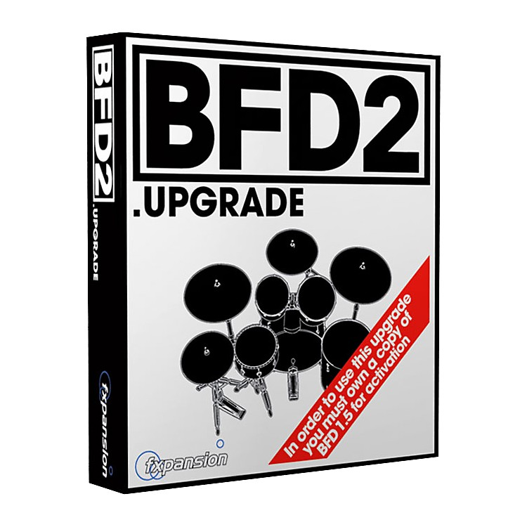 Fxpansion BFD2 Acoustic Drums Module Upgrade (on DVD disk) from version 1.5