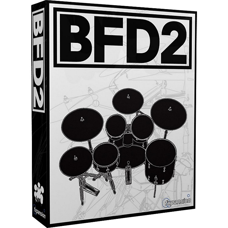 Fxpansion BFD2 Acoustic Drums Module