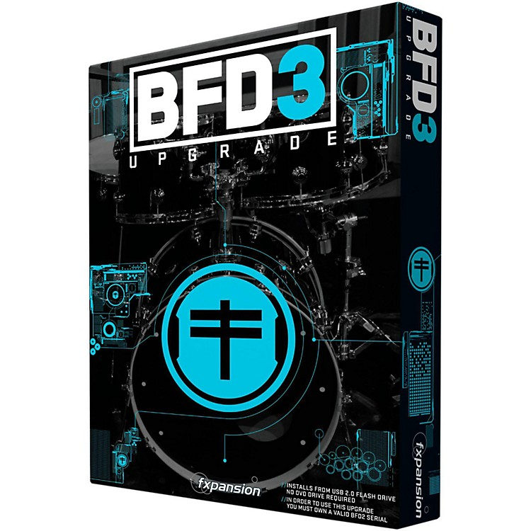 FxpansionBFD3 Upgrade from BFD2