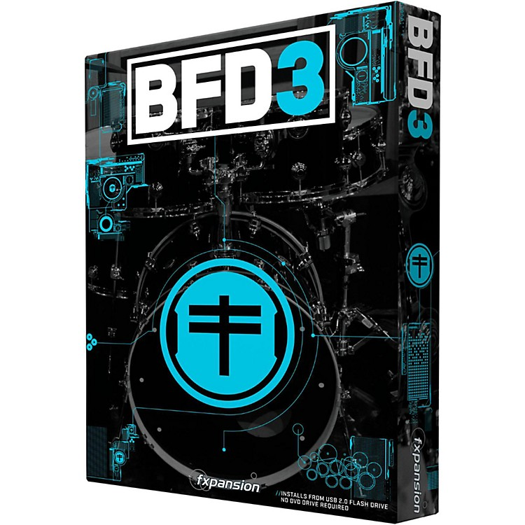 FxpansionBFD3 Virtual Drum Software
