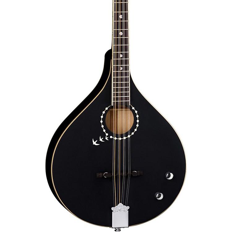 Luna GuitarsBGBZ Moonbird Acoustic-Electric BouzoukiSatin Black