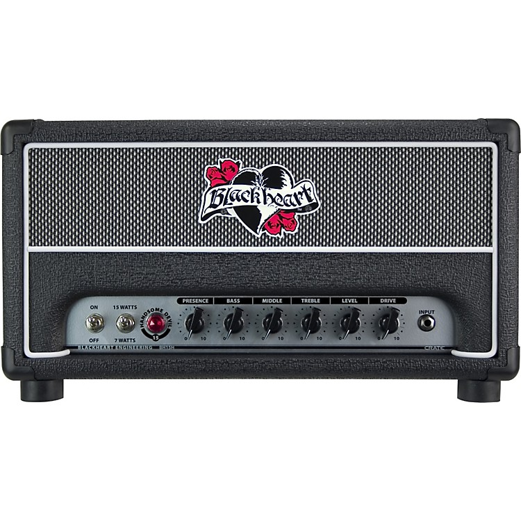 Blackheart BH15H Handsome Devil Series 15W Tube Amp Head Black
