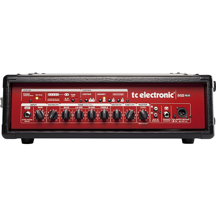 TC Electronic BH500 500W Bass Amp Head Red