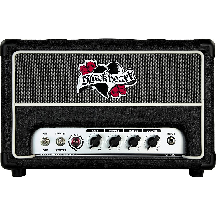 Blackheart BH5H Little Giant 5W 120V Tube Guitar Amp Head Black