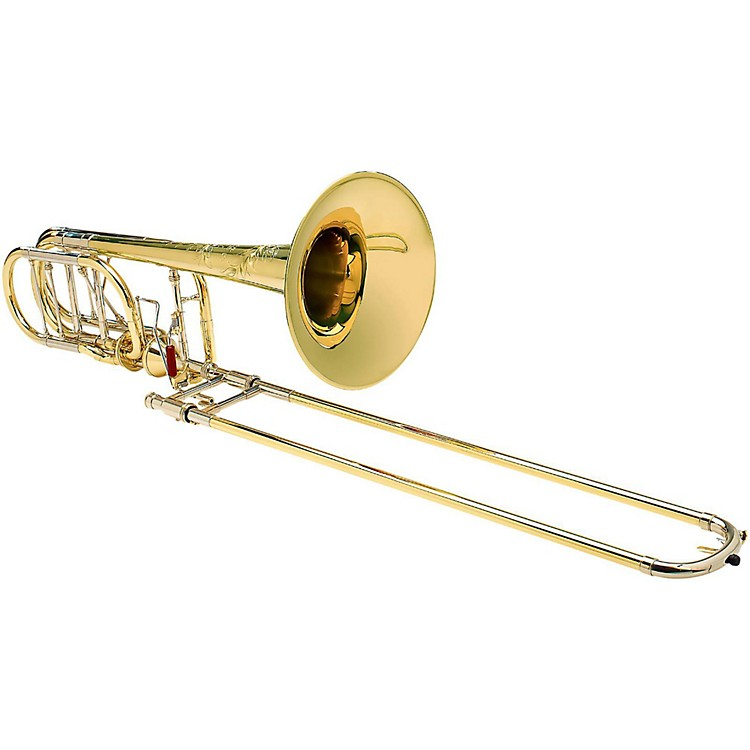 S.E. SHIRES BII 7YM Custom Model Axial-Flow Bass Trombone Model TBBSCA Lacquer