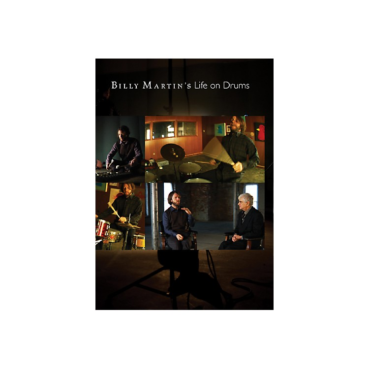 Alfred BILLY MARTINS LIFE ON DRUMS DVD