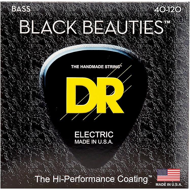 DR StringsBLACK BEAUTIES Coated 5-String Bass Light (40-120)