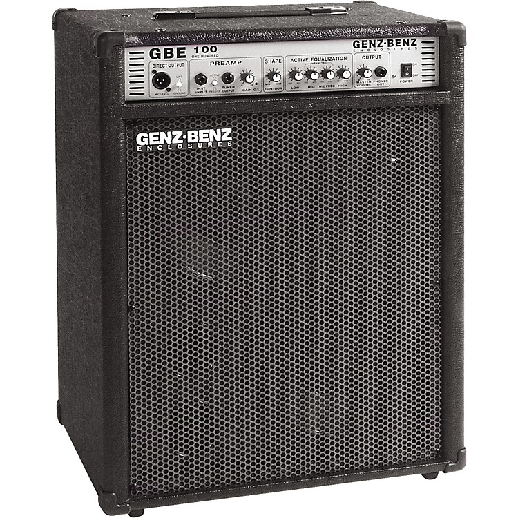 genz benz blem gbe100 210t bass combo amp music123. Black Bedroom Furniture Sets. Home Design Ideas
