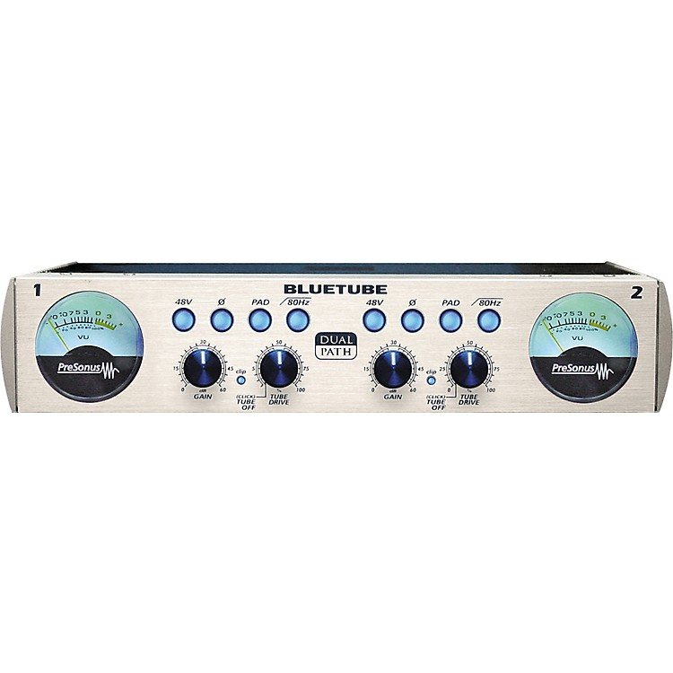 PreSonus BLUETUBE DP Stereo Dual Path Microphone/Instrument Preamp with 12AX7 Tube