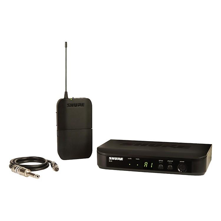ShureBLX14 BLX Wireless Guitar SystemBand K12
