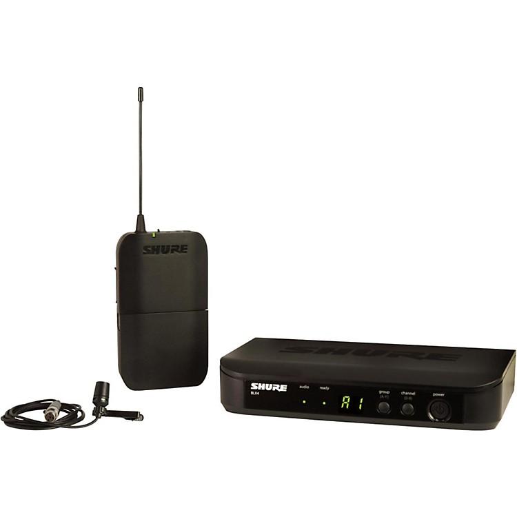ShureBLX14 Lavalier System with CVL Lavalier microphoneBand H10