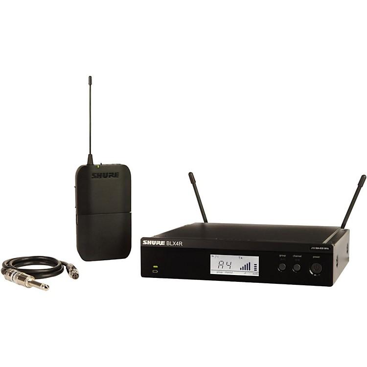 ShureBLX14R Wireless Guitar System with Rackmountable ReceiverBand K12