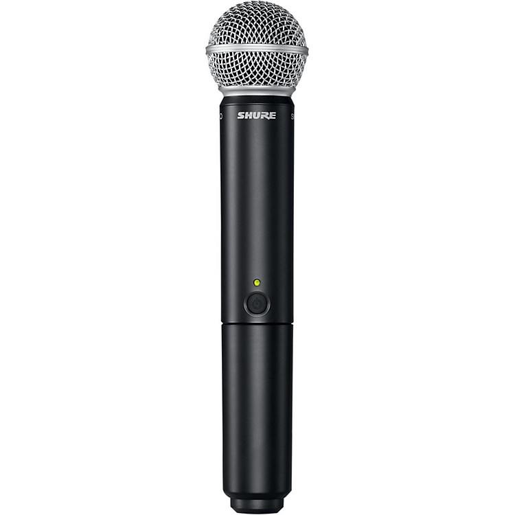 Shure BLX2/SM58 Handheld Wireless Transmitter with SM58 Capsule Band H10