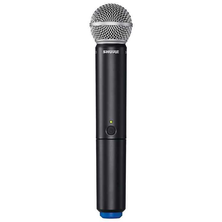 Shure BLX2/SM58 Handheld Wireless Transmitter with SM58 Capsule Band H8