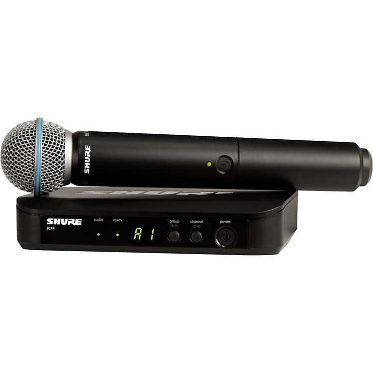 Shure BLX24/B58 Handheld Wireless System with Beta 58A Capsule Band H9