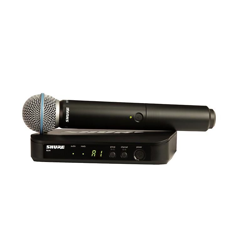 ShureBLX24/B58 Handheld Wireless System with Beta 58A CapsuleBand M15