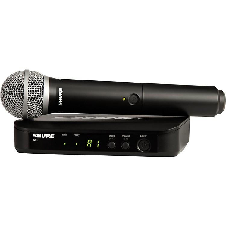 ShureBLX24/PG58 Handheld Wireless System with PG58 CapsuleBand H9