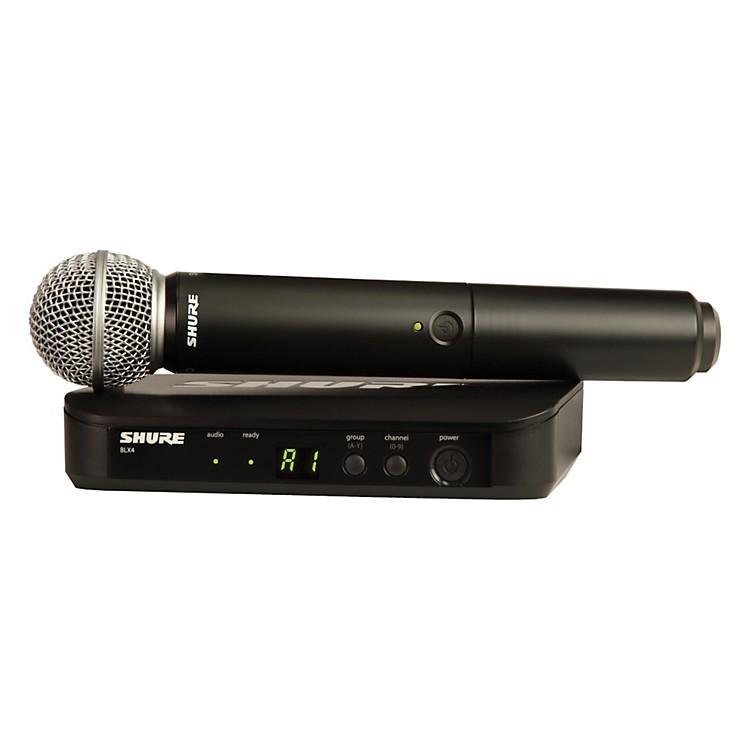 ShureBLX24/SM58 Handheld Wireless System with SM58 CapsuleBand H8