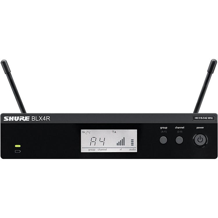 ShureBLX4R BLX Rackmountable Wireless ReceiverBand H10
