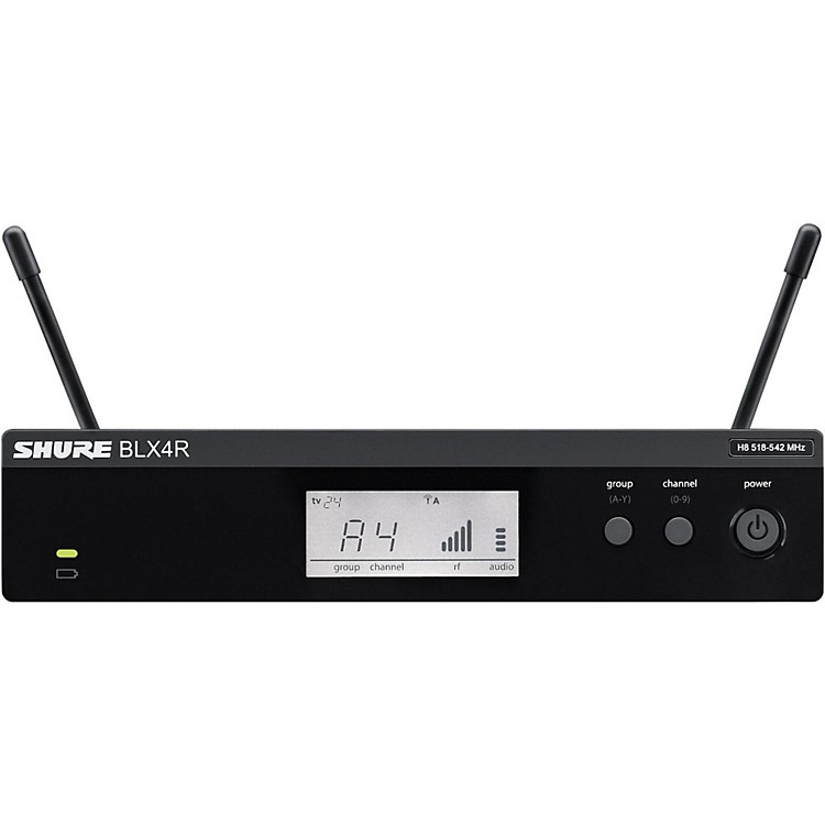 Shure BLX4R BLX Rackmountable Wireless Receiver Band H9
