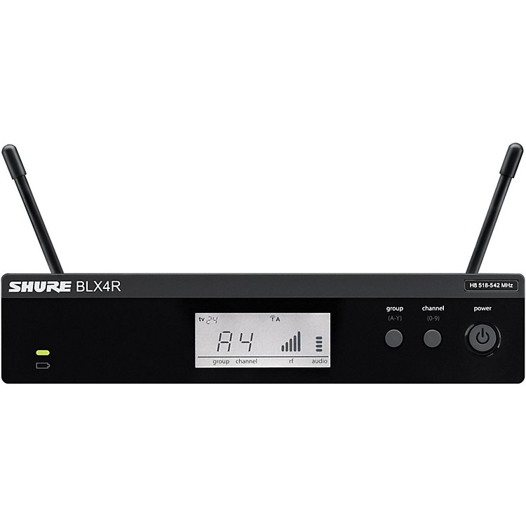 Shure BLX4R BLX Rackmountable Wireless Receiver Band K12