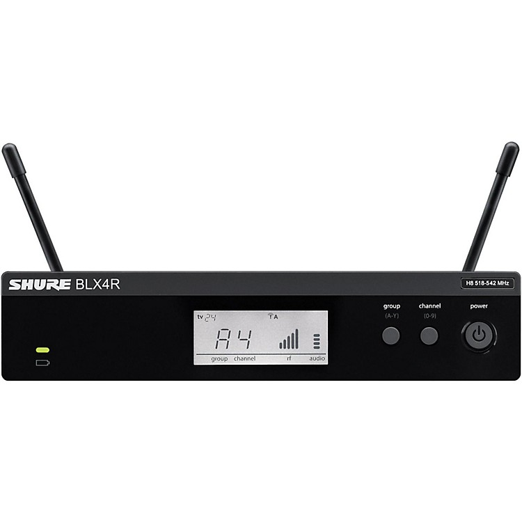 Shure BLX4R BLX Rackmountable Wireless Receiver
