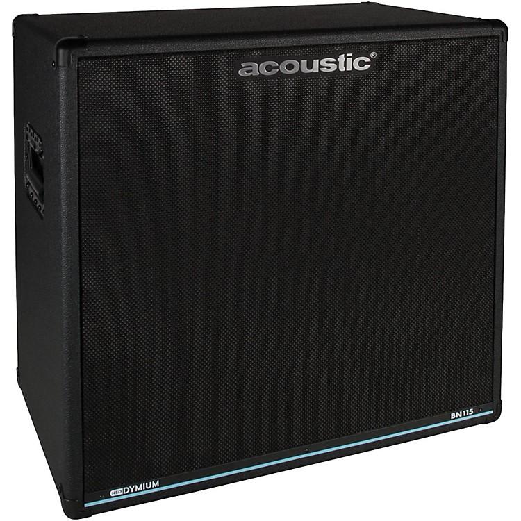 acoustic bn115 500w 1x15 bass speaker cabinet music123. Black Bedroom Furniture Sets. Home Design Ideas