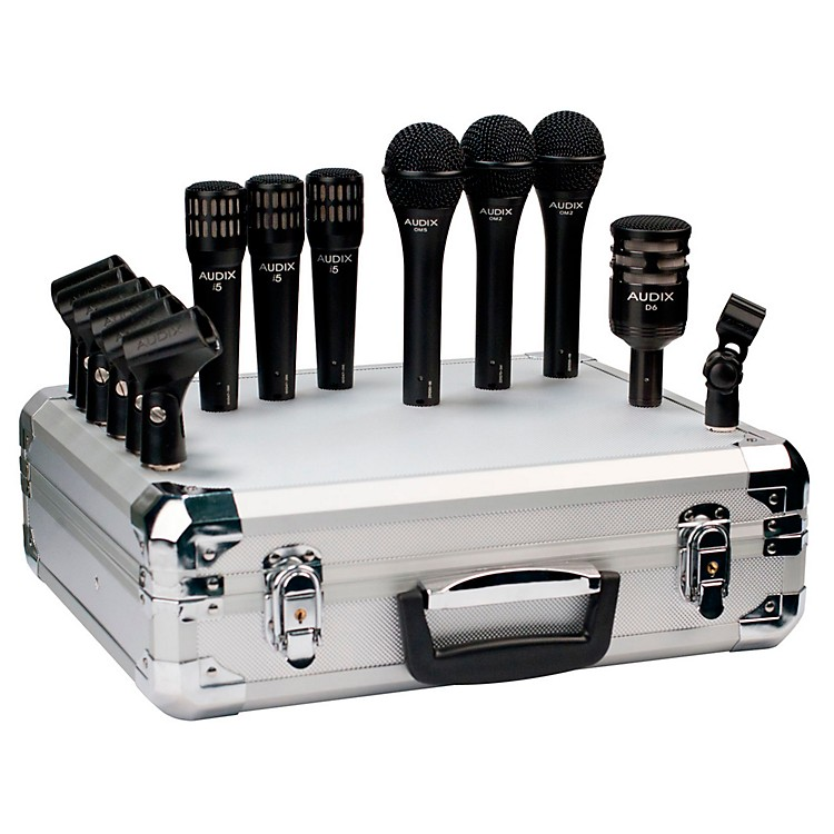AudixBP7 Pro 7-Piece Band Microphone Pack