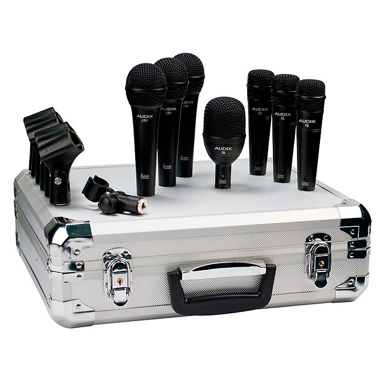 AudixBP7F 7-Piece Band Microphone Pack