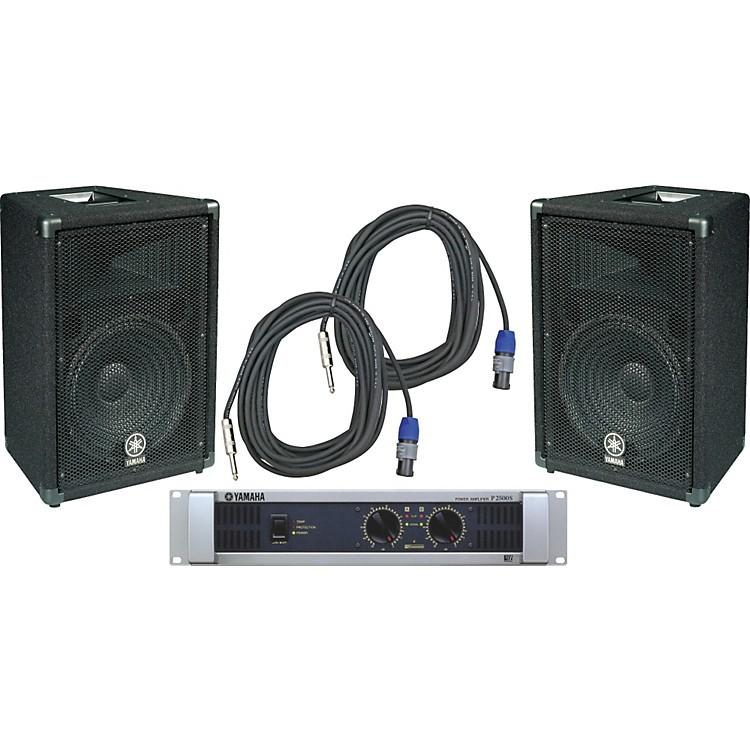 YamahaBR12 / P2500S Speaker & Amp Package