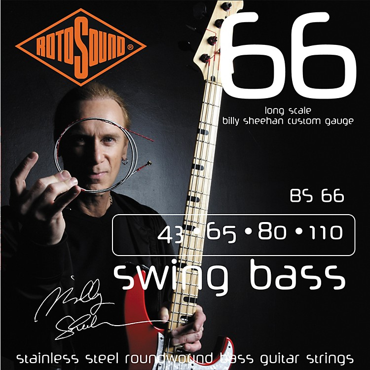 RotosoundBS66 Billy Sheehan Bass Strings