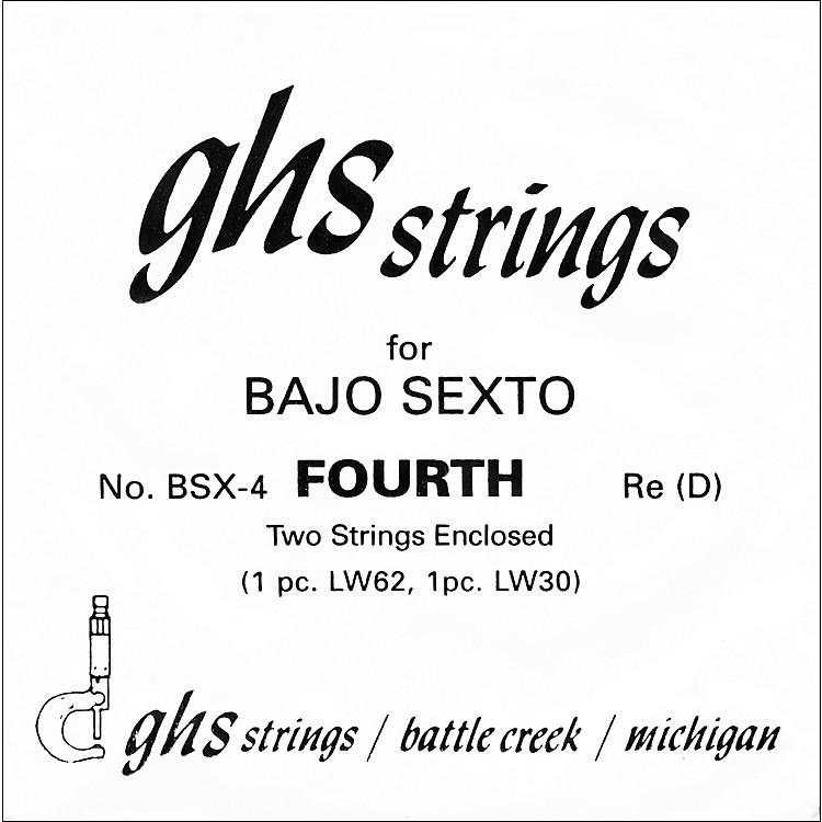 GHSBSX4 Bajo Sexto Single Guitar String