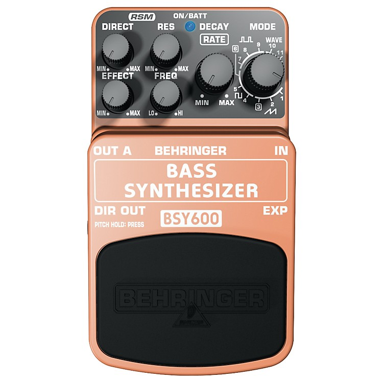BehringerBSY600 Bass Synthesizer Effects Pedal