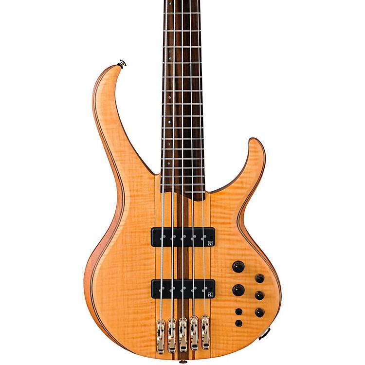 IbanezBTB1405E Premium 5-String Electric BassVintage Natural Flat