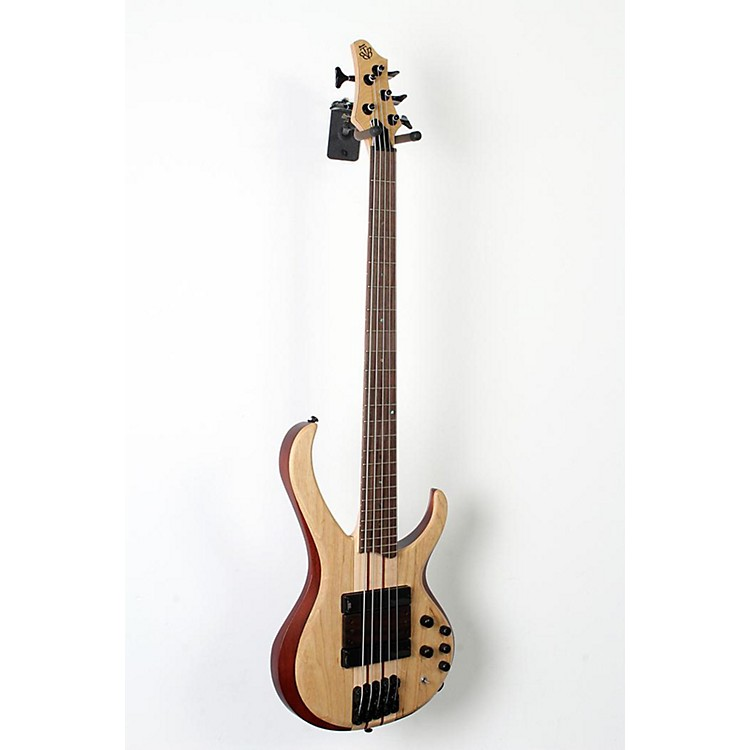 Ibanez BTB33 5-String Electric Bass Guitar Flat Natural 888365851532