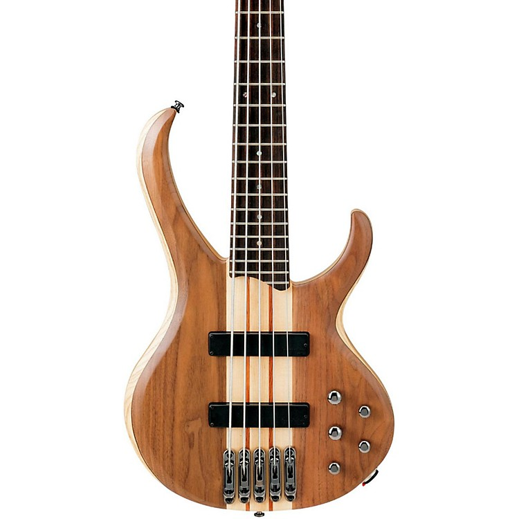 IbanezBTB675 BTB 5-String Electric Bass GuitarNatural Flat