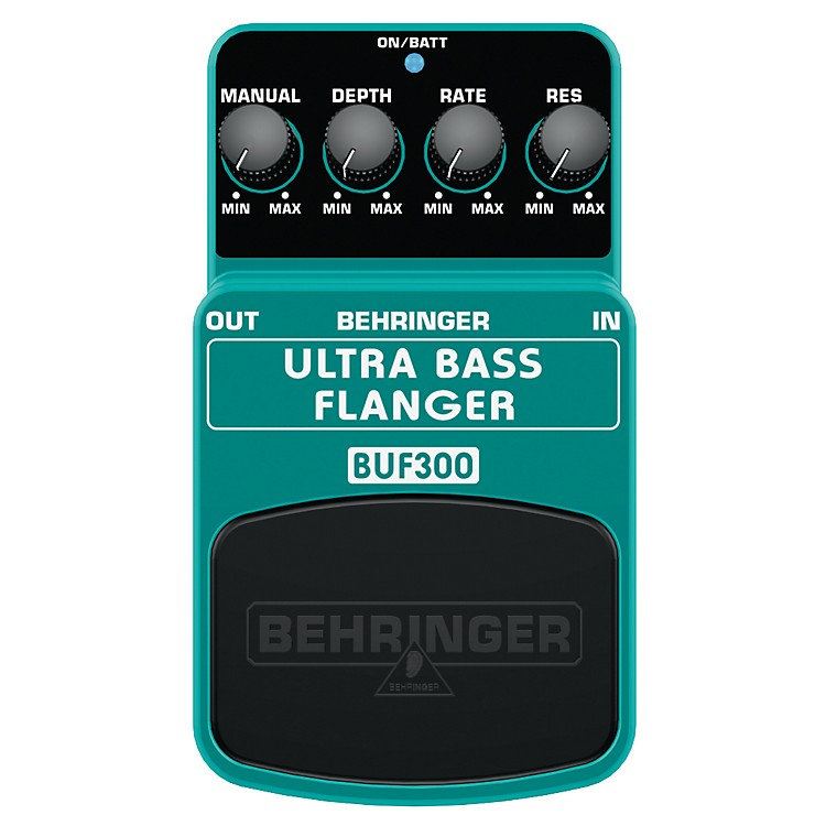 Behringer BUF300 Ultra Bass Flanger Effects Pedal