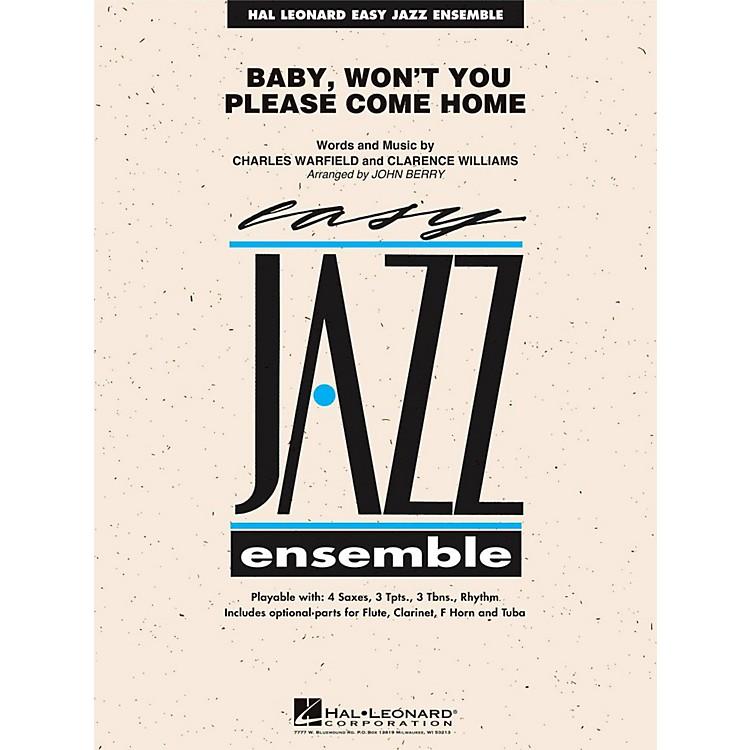 Hal LeonardBaby Won't You Please Come Home - Easy Jazz Ensemble Series Level 2