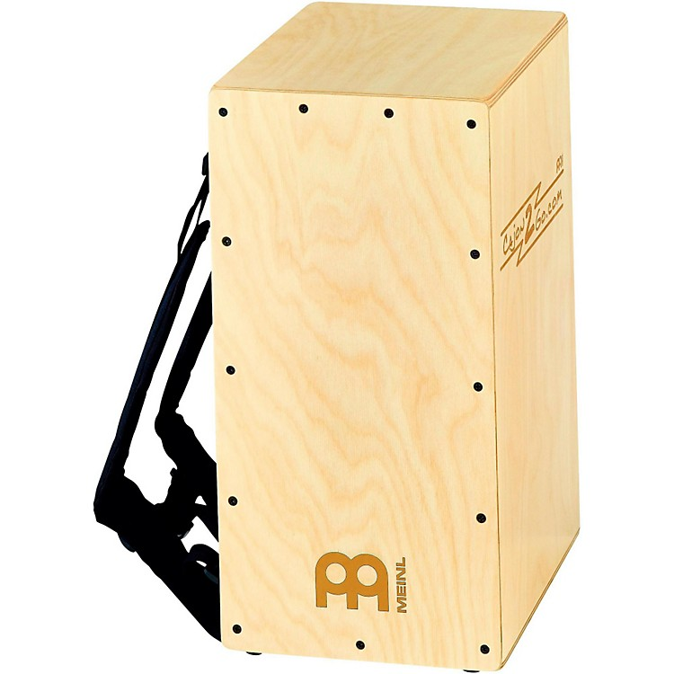 MeinlBackpacker Cajon with Internal Snares and Backpack Straps