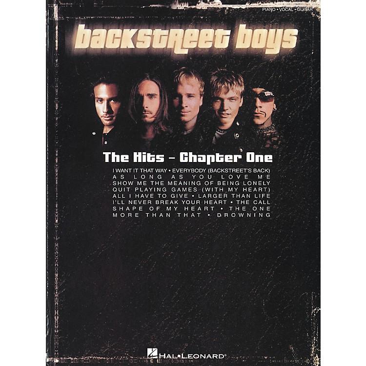 Hal LeonardBackstreet Boys - The Hits Chapter One Piano, Vocal, Guitar Songbook
