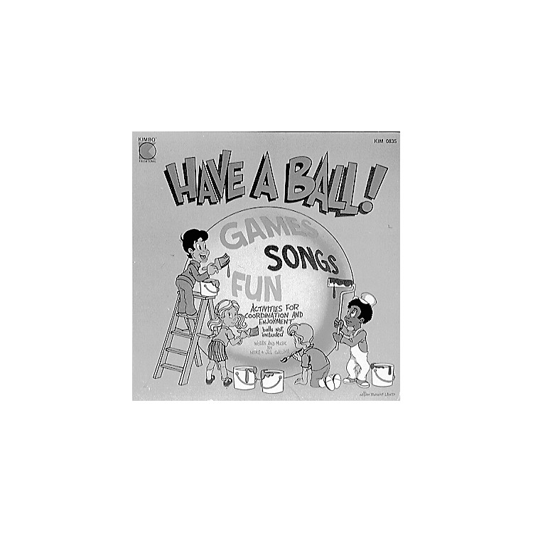 Kimbo Ball Activity Fun CD