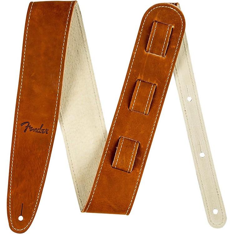FenderBall Glove Leather Guitar StrapBrown