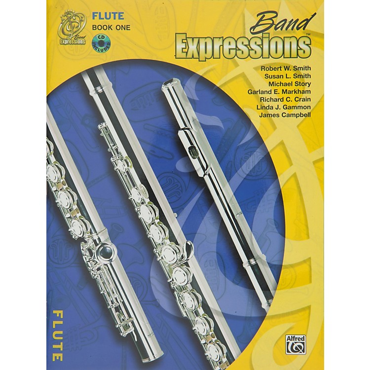 AlfredBand Expressions Book One Student Edition Flute Book & CD