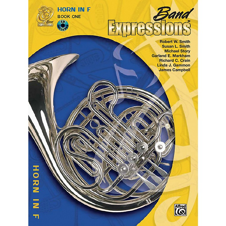 AlfredBand Expressions Book One Student Edition Horn in F Book & CD