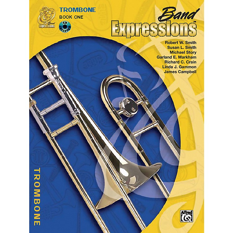 AlfredBand Expressions Book One Student Edition Trombone Book & CD