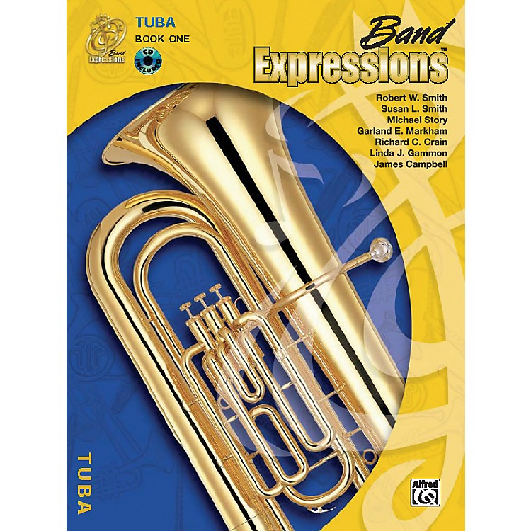 AlfredBand Expressions Book One Student Edition Tuba Book & CD
