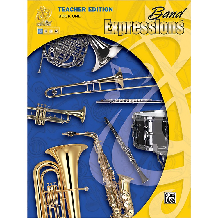 AlfredBand Expressions Book One Teacher Edition Curriculum Package