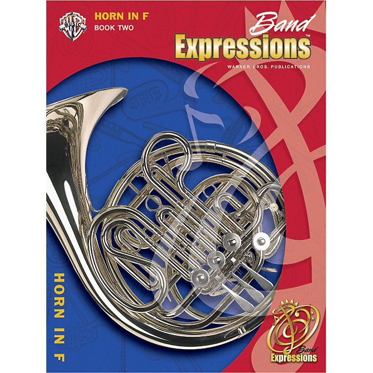 Alfred Band Expressions Book Two Student Edition Horn in F Book & CD