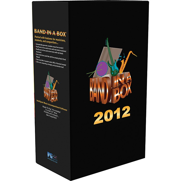 PG MusicBand-in-a-Box 2012 UltraPlusPAK HD Upgrade from Previous Version (WIN)